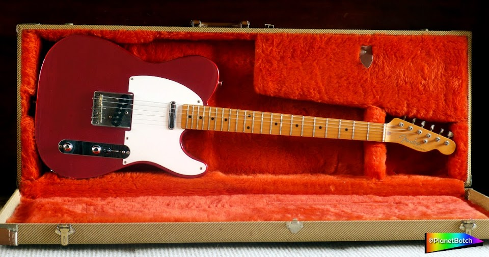 Fender Japan '50s Telecaster in Candy Apple Red