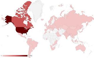 mapa mundial ataques