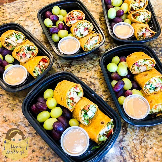 Thai Chicken Wraps_menumusings.com