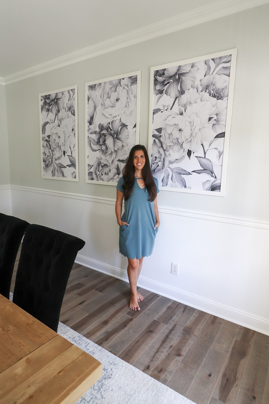 Beautifully Candid Diy Framed Wallpaper Panels
