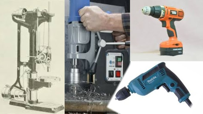Types of Drilling Machines in hindi
