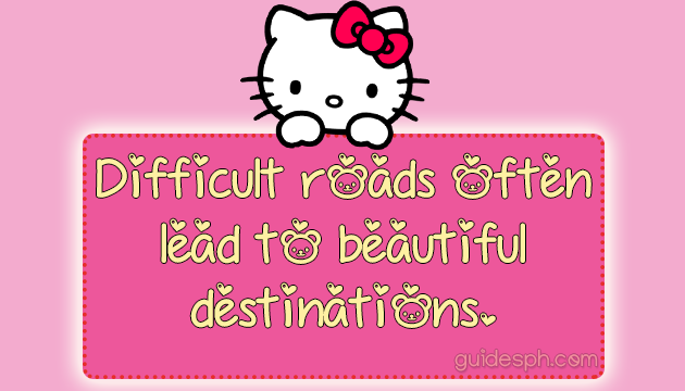 Mobile Font: Hello Kitty Bear TTF Font