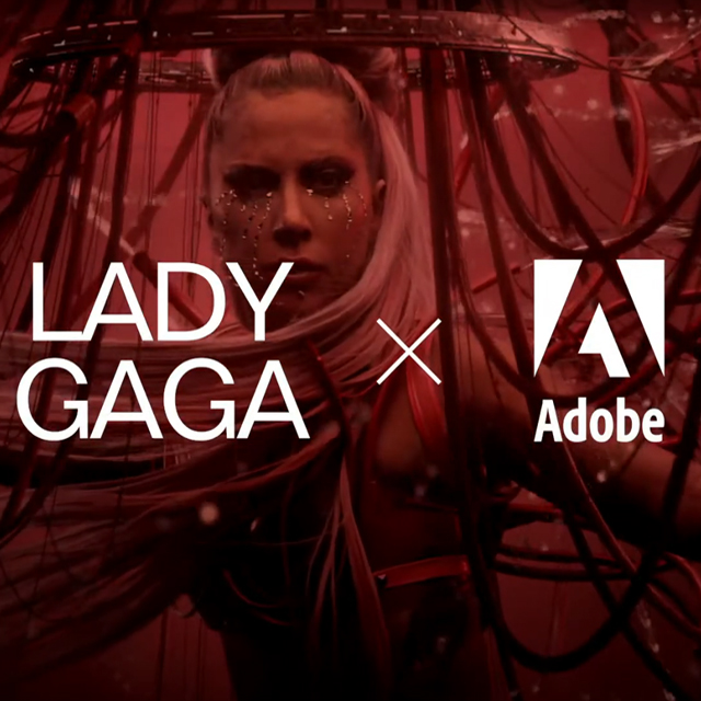 Lady Gaga Partners with Adobe for Chromatica Inspired Contest