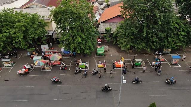 Ditengah Pandemi Covid-19, Pemkot Surabaya Terus Lakukan Penataan Pasar