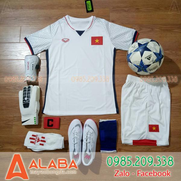 Áo bóng đá Việt Nam màu trắng xịn