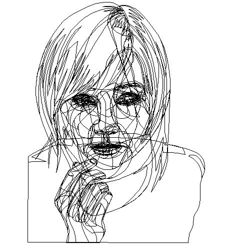Wireframe Horikita Maki