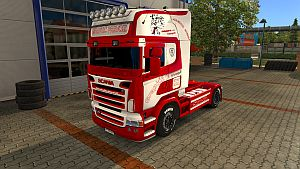 Grapkić prevoz paint job for Scania RJL
