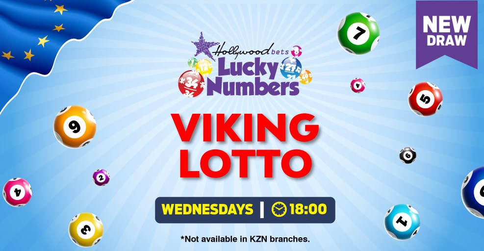 Viking Lotto - Lucky Numbers - Hollywoodbets - Wednesdays - 18:00