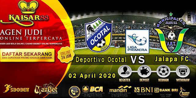 Prediksi Bola Terpercaya Liga Clausura Deportivo Ocotal vs Jalapa 02 April 2020