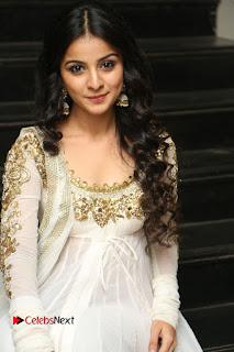 Telugu Actress Mahima Makwana Stills in White Desginer Dress at Venkatapuram Movie Logo Launch  0150.JPG
