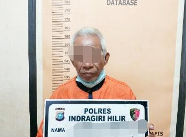 Tertangkap Basah sedang Berduan di Kamar, Kakek di Gaung Inhil Diamankan Polisi