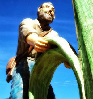Monumento ao Fundador, em Rio Rufino