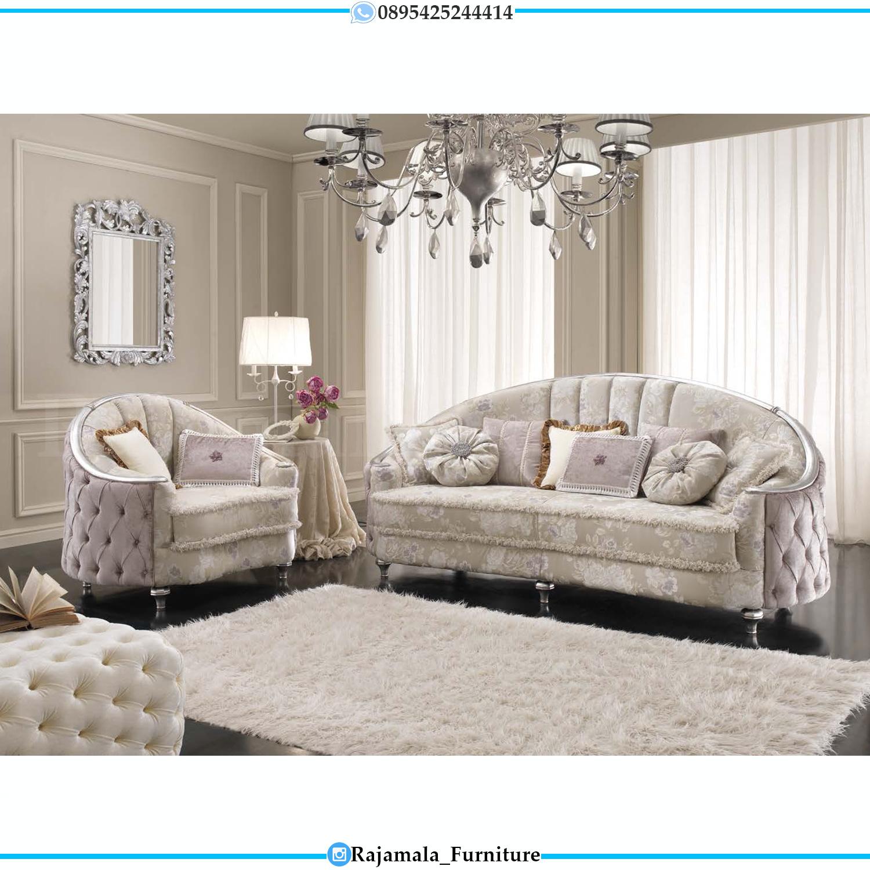New Desain Sofa Tamu Mewah Terbaru Classic Luxury Jepara RM-0272