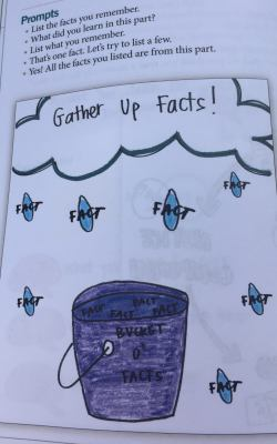anchor chart gather up facts