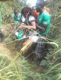 Rescued lady from the hands of Police officers photo