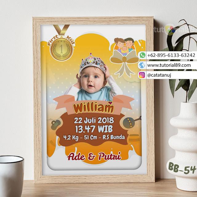 Biodata Bayi Costume Unik Kode BB54 | First Kids