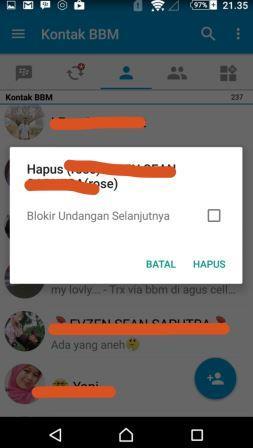 Cara Menghapus Kontak BBM di Android Dengan Mudah Sekali ...