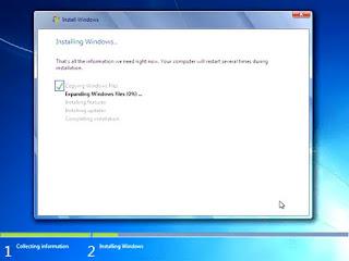 bagaimana cara menginstal windows7