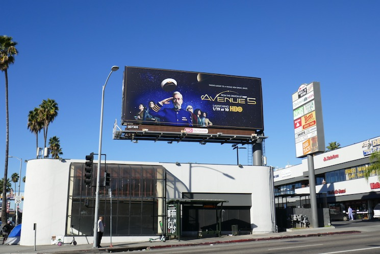 Avenue 5 season 1 billboard