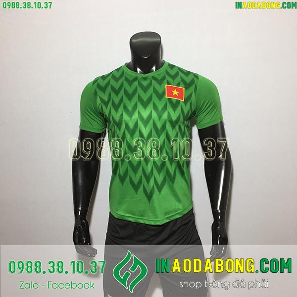 Áo bóng đá đội tuyển Việt Nam 2020 màu xanh