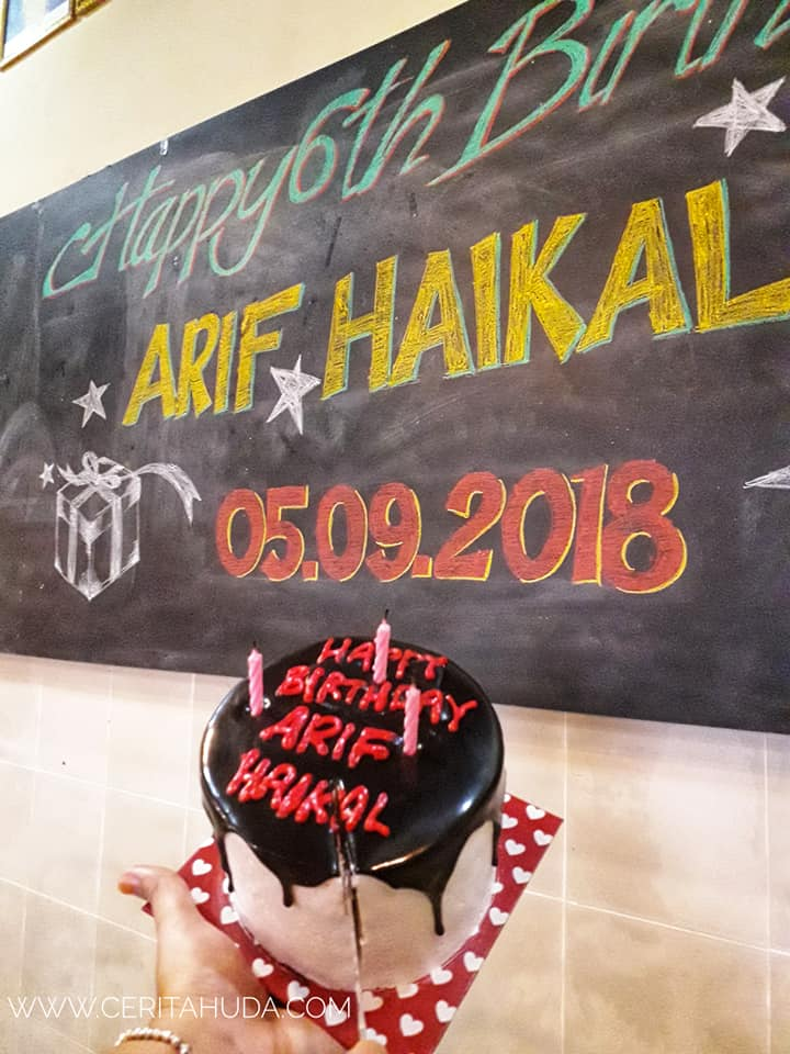 Suprise Birthday Dinner Arif Haikal di Puncak Panorama