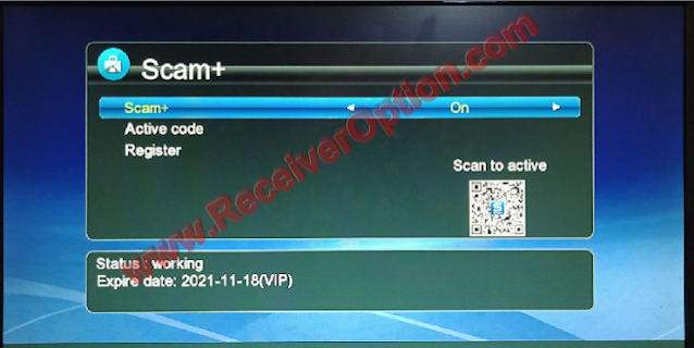 GX6605S 5815 V4.1 NEW SOFTWARE WITH ONE YEAR FREE SCAM+ SERVER