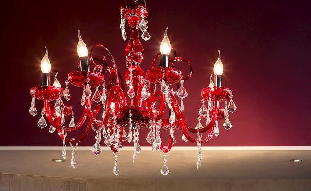 lampadario-di murano-con-cristalli-swarovski-originali