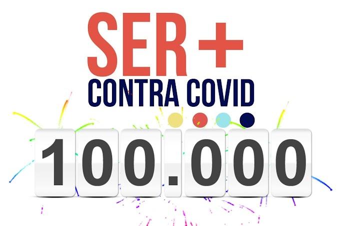 La web Ser+Contra COVID ya supera las cien mil visitas