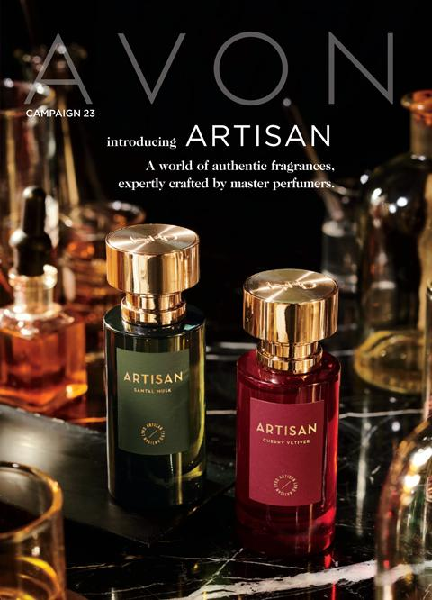AVON Campaign 23 2020 Brochure Online - Introducing ARTISAN!