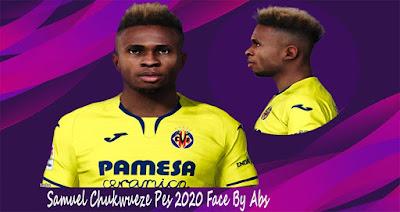 PES 2020 Faces Samuel Chukwueze by Rachmad ABs