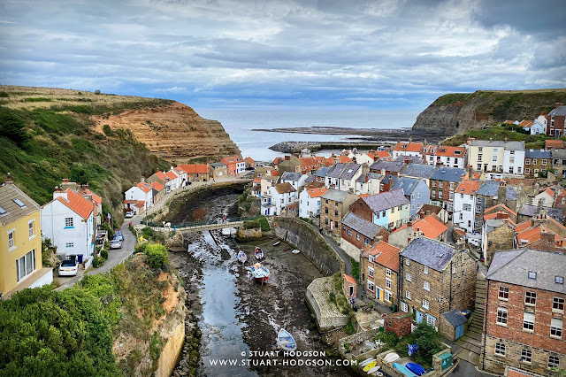 Staithes cottages North Yorkshire best view accommodation UK England Fishing Old Jacks Boat