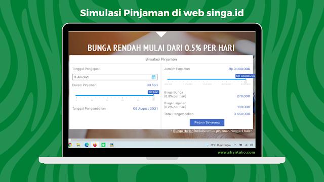 simulasi pinjaman online singa id