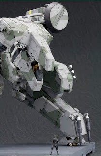 METAL GEAR REX MAQUETA