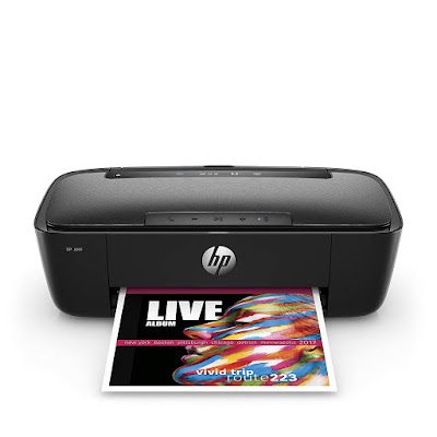 Use your smartphone to easily impress in addition to play music through your printer HP AMP 100 Driver Downloads