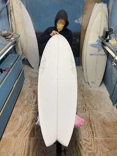 Custom surfboards &art by Paul Carter