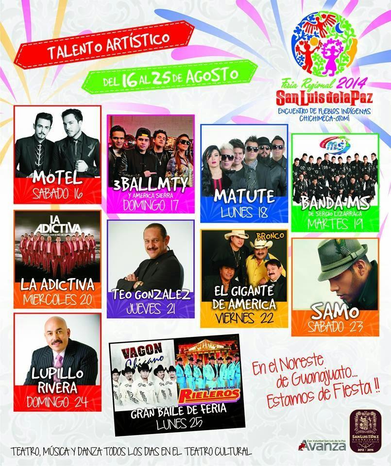 Feria San Luis de la paz 2014