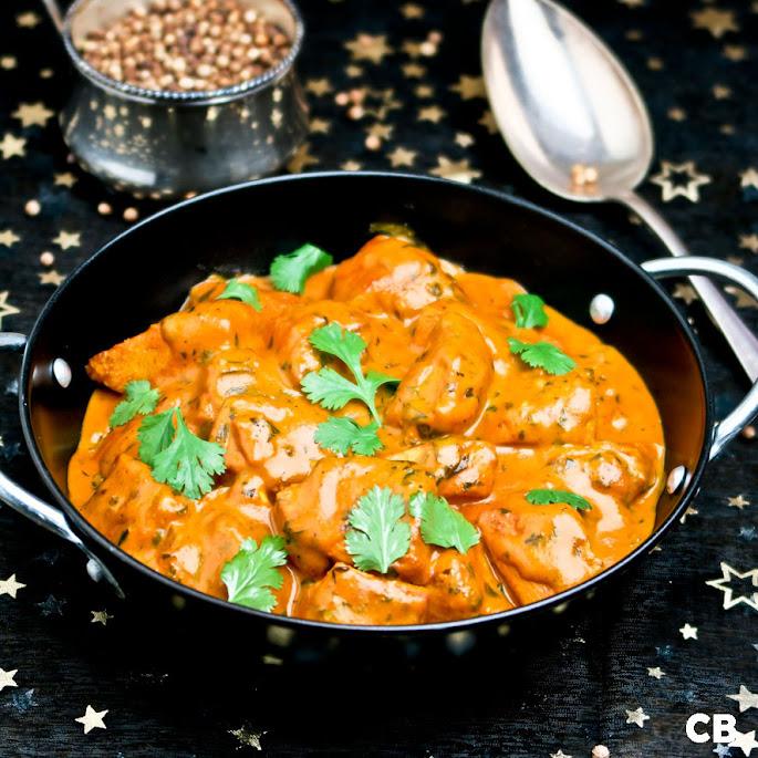 Butter chicken, een mildere Indiase kipcurry met room