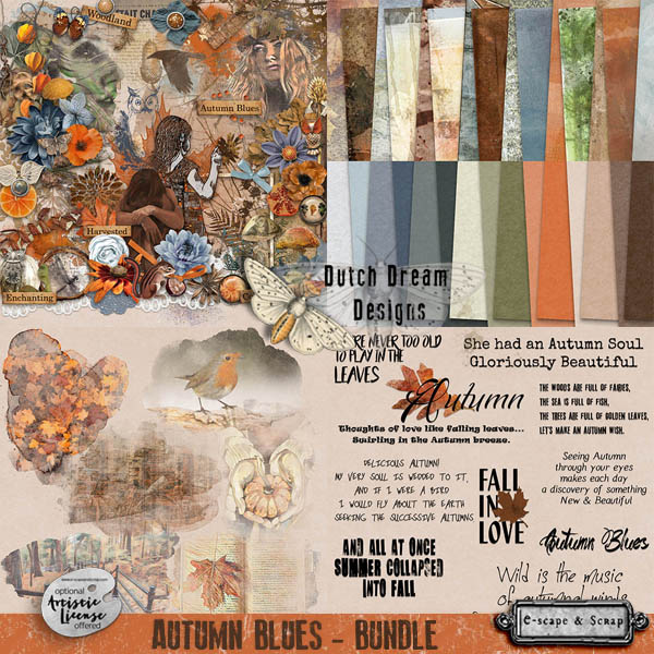 autumn blues bundle