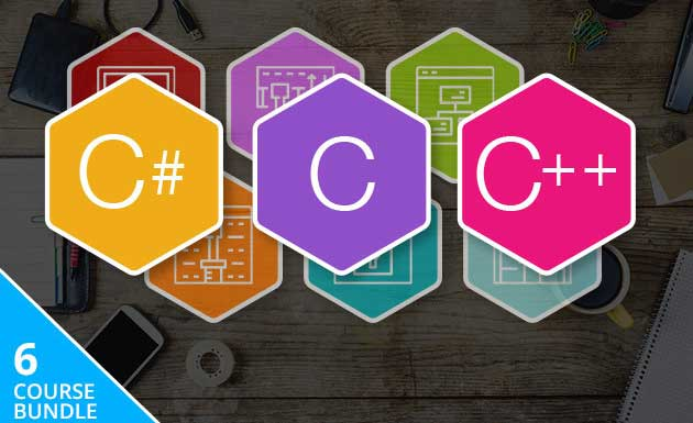 Complete C Family Programming course Bundle