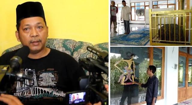 Mengaku Nabi Isa, Pria Jombang Ini Letakkan Batu dan Wayang di Masjid