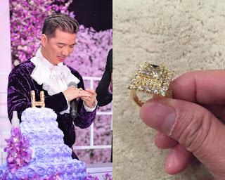 Nhẫn kim cương 10 tỷ của Đàm Vĩnh Hưng