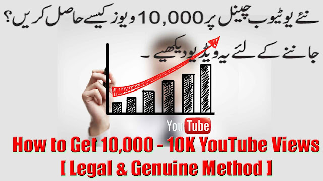 How to Get 10000 YouTube Views on New Youtube Channel