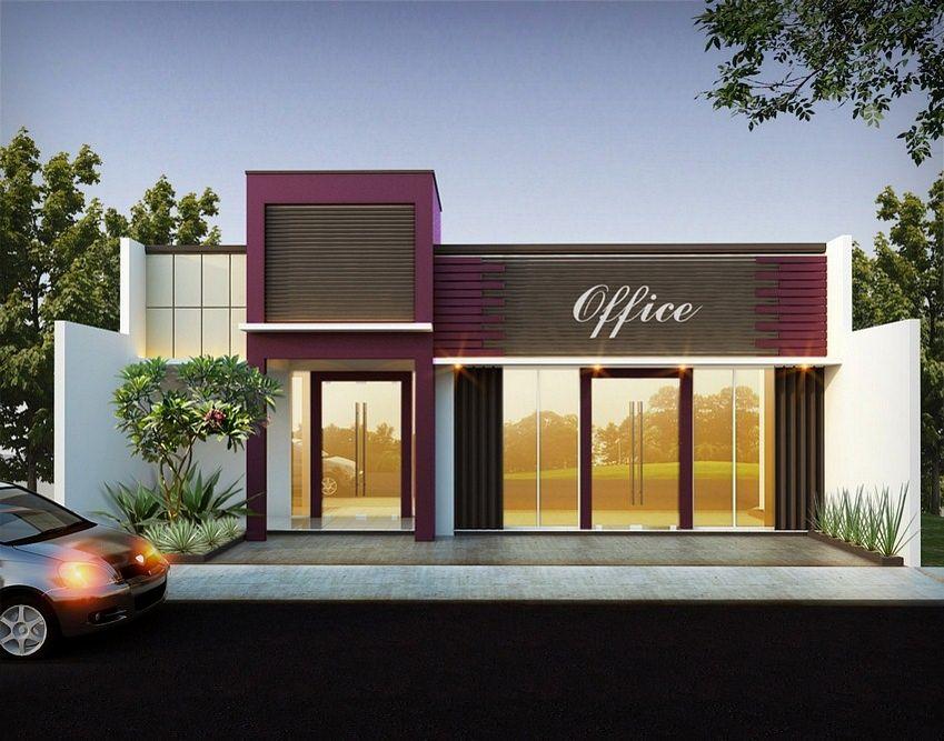 Warna Cat Rumah Minimalis Ruko bentuk warna cat interior ruko tampak modern