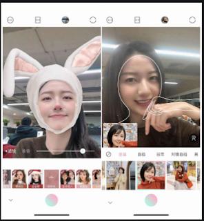 Tải App 轻颜相机  App chỉnh ảnh Trung Quốc cực đẹp mới Qīng yán xiàngjī