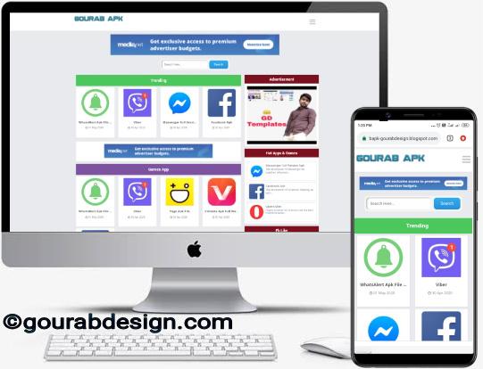 gourab apk blogger template