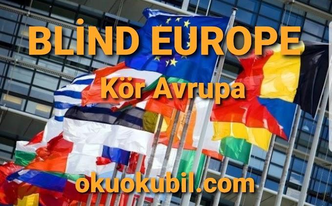 Kör Avrupa Blind Europe