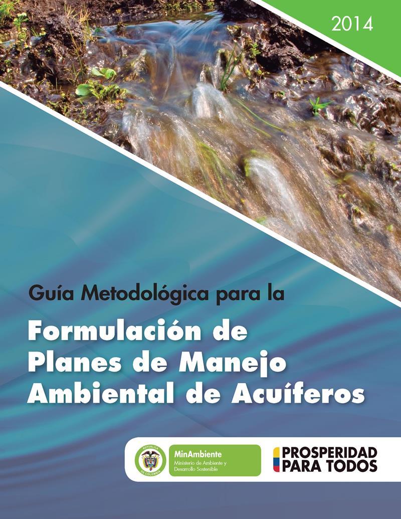 Formulación de planes de manejo ambiental de acuíferos