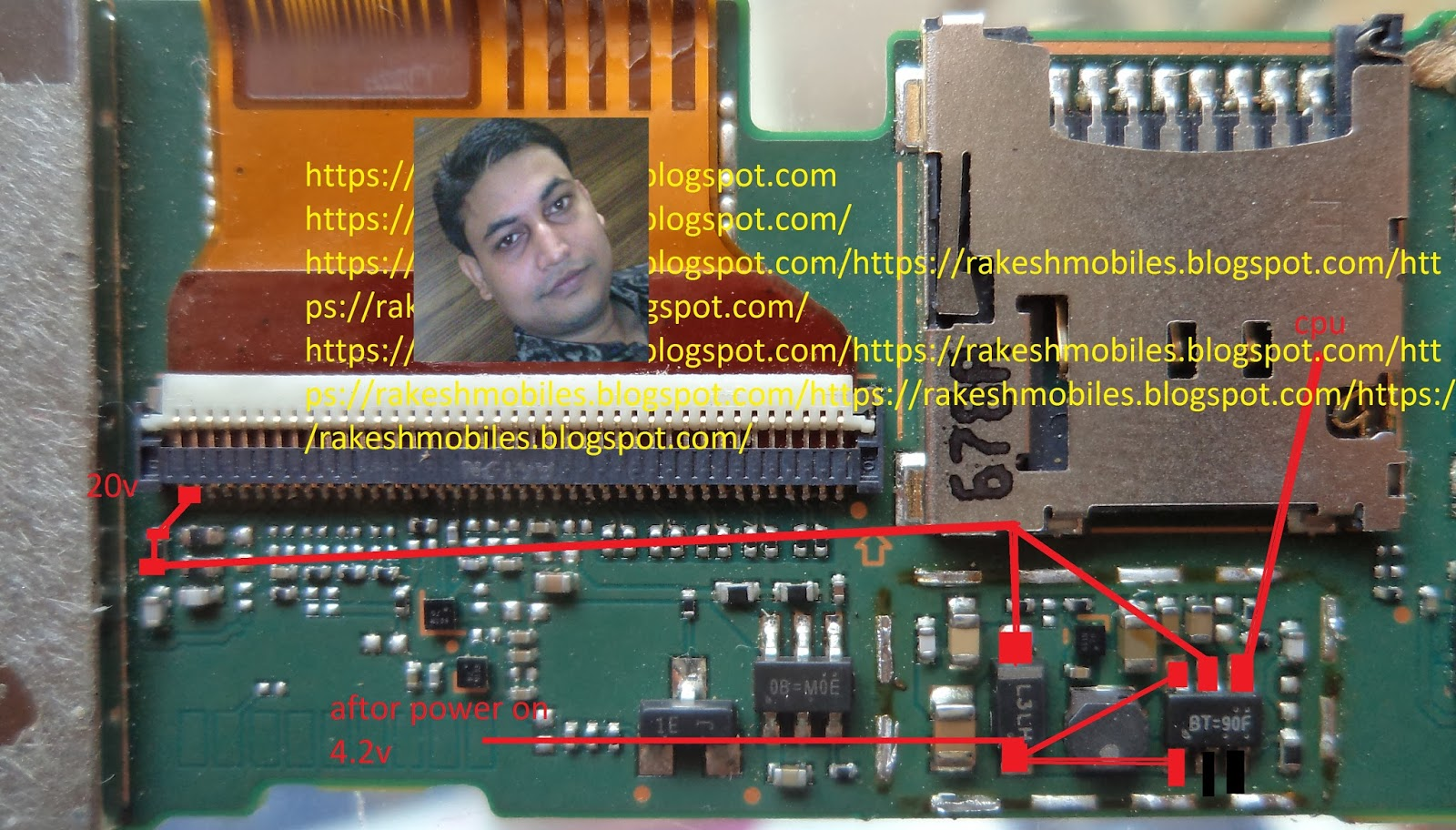 huawei t1-701u light solution   Mobile Repairing Tips
