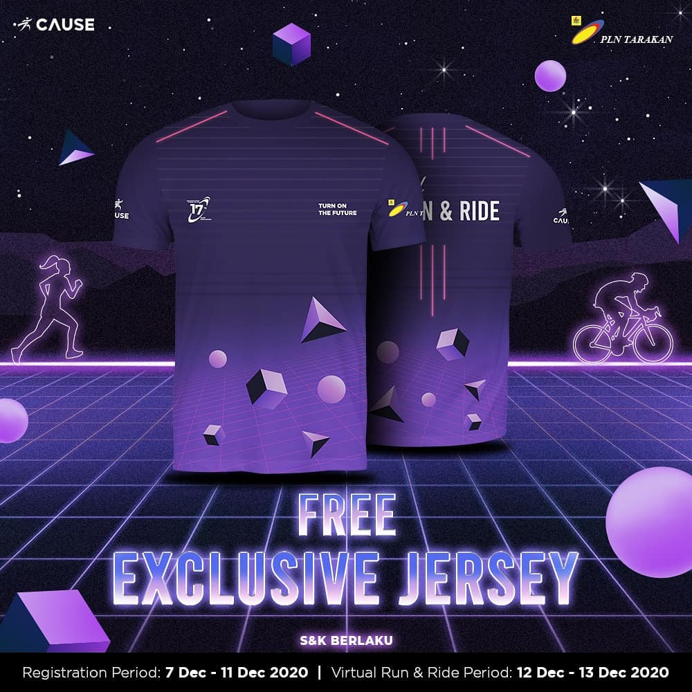 Jersey - 17th PLNT Anniversary Virtual Run & Ride • 2020