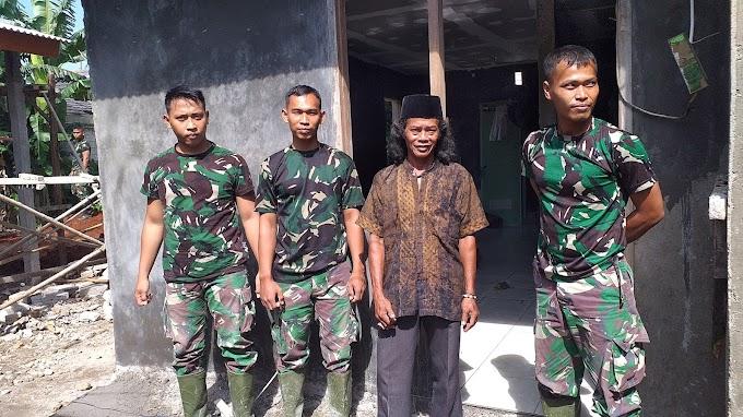 Wahyudi Tak Akan Lupakan Jasa TNI. Rumahnya Jadi Layak Huni